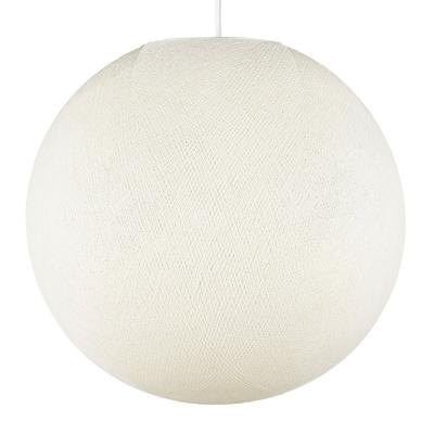 Sphere M lampshade made of polyester fiber, 35 cm diameter - 100% handmade