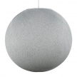Sphere M lampshade made of polyester fiber, 35 cm diameter - 100% handmade