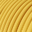 RM10 Yellow Round Rayon Electrical Fabric Cloth Cord Cable