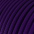 RM14 Violet Round Rayon Electrical Fabric Cloth Cord Cable