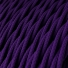 TM14 Violet Twisted Rayon Electrical Fabric Cloth Cord Cable