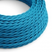 TM11 Cyan Twisted Rayon Electrical Fabric Cloth Cord Cable