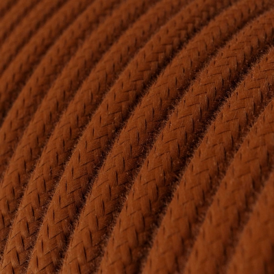 RC23 Deer Round Cotton Electrical Fabric Cloth Cord Cable