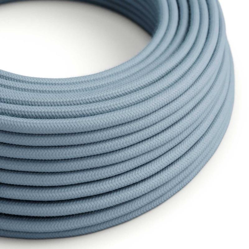 RC53 Ocean Round Cotton Electrical Fabric Cloth Cord Cable