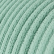 RC34 Milk and Mint Round Cotton Electrical Fabric Cloth Cord Cable