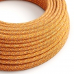 RX07 Indian Summer Round Rayon Electrical Fabric Cloth Cord Cable
