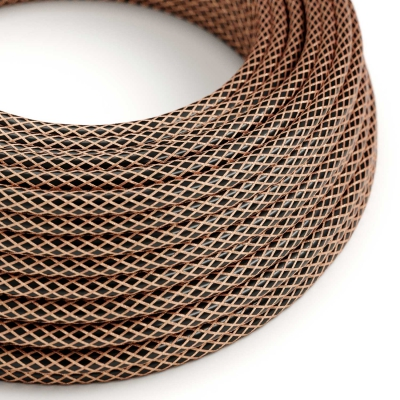 RR02 Copper covered Electrical Fabric Cloth Cord Cable