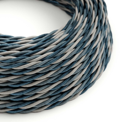 TG08 Bernadotte Twisted Rayon Electrical Fabric Cloth Cord Cable