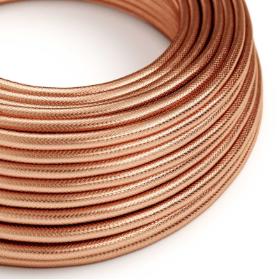 100% Red Copper covered Electrical Fabric Cloth Cord Cable