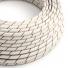 ERM43 Beer Foam Vertigo HD Round Electrical Fabric Cloth Cord Cable