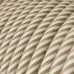 ERN07 Hawser Vertigo Round Jute and Cotton Electrical Fabric Cloth Cord Cable