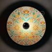 Fermaluce Ethnic with double-sided wooden UFO lampshade illustrated by various artists