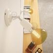 Fermaluce Color 90°, the adjustable porcelain flush light