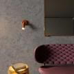 Fermaluce Metal adjustable spotlight, metal wall light with Tub-E14