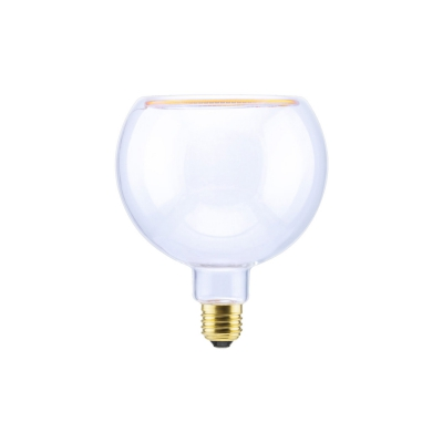 LED Globo G125 Clear Linea Floating 8W Dimmable 2200K bulb