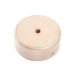 Mini cylindrical 1-central-hole wooden ceiling rose kit