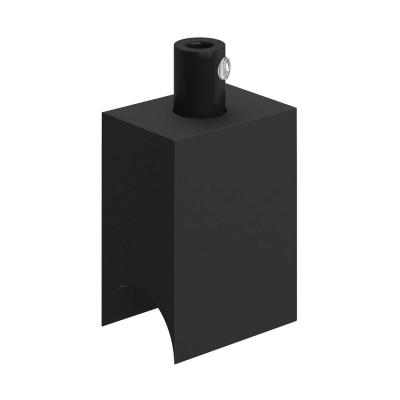 Syntax - Minimal Black Thermoplastic Socket for S14d tube bulbs