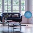 Sphere XS lampshade made of polyester fiber, 25 cm diameter - 100% handmade