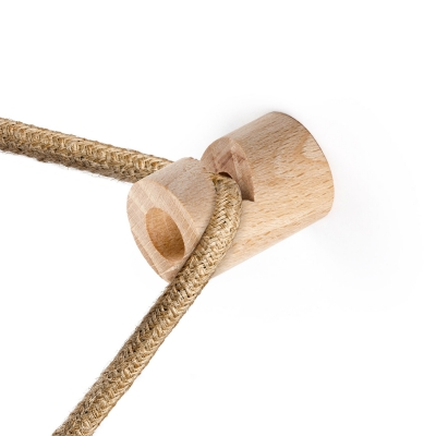 """Decentralizer, fabric cable wooden ceiling or wall """"V"""" hook"""