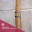 Creative-Tube flexible conduit, Rayon Jute RN06 fabric covering, diameter 20 mm