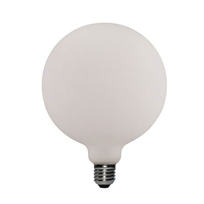 Led Porcelain Light Bulb G155 6W E27 Dimmable 2700K