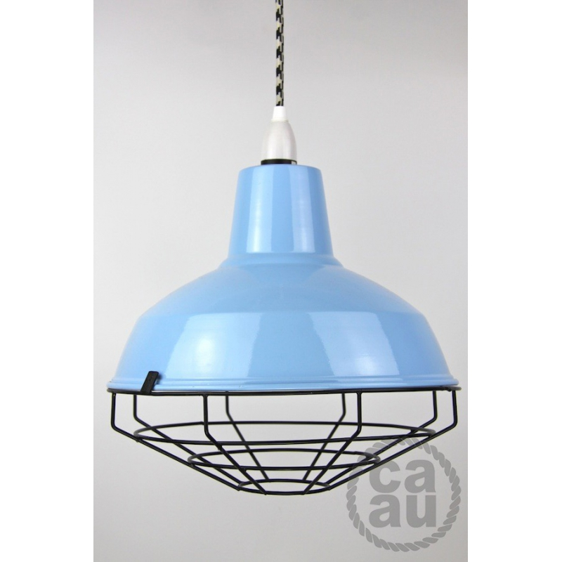 Cage Shade Blue & Black