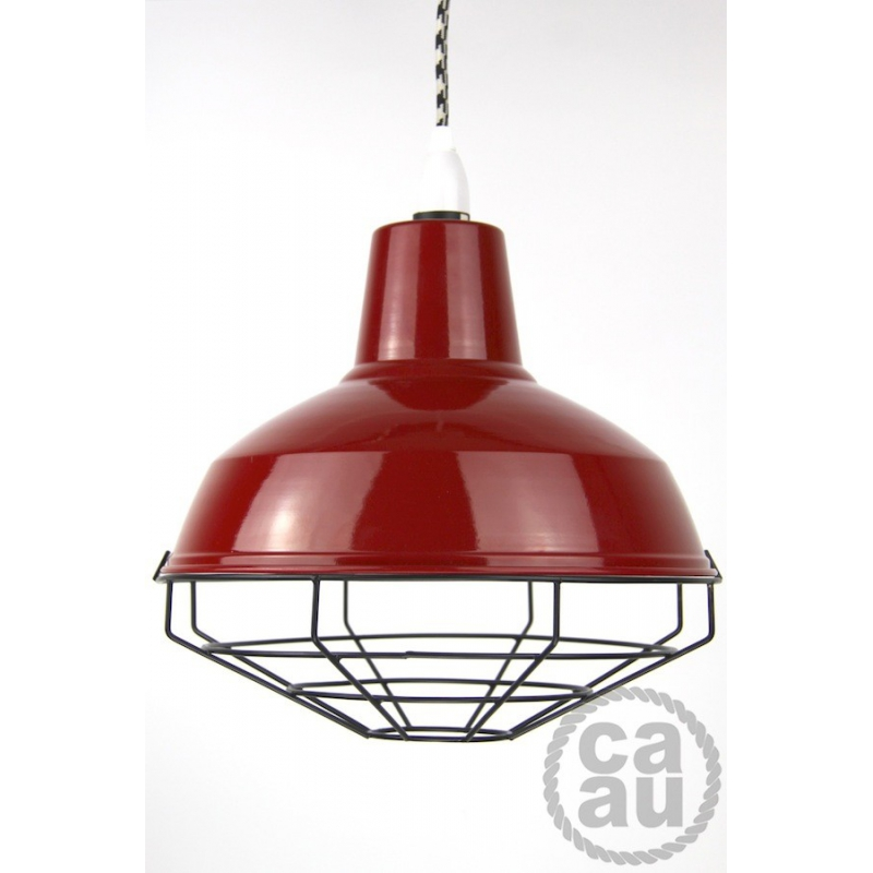 Cage Shade Red & Black
