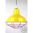 Cage Shade Yellow & Pink