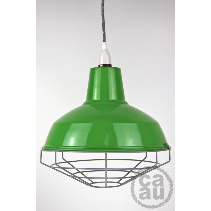 Cage Shade Green & Grey