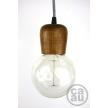 Wooden Lampholder Medium Maple