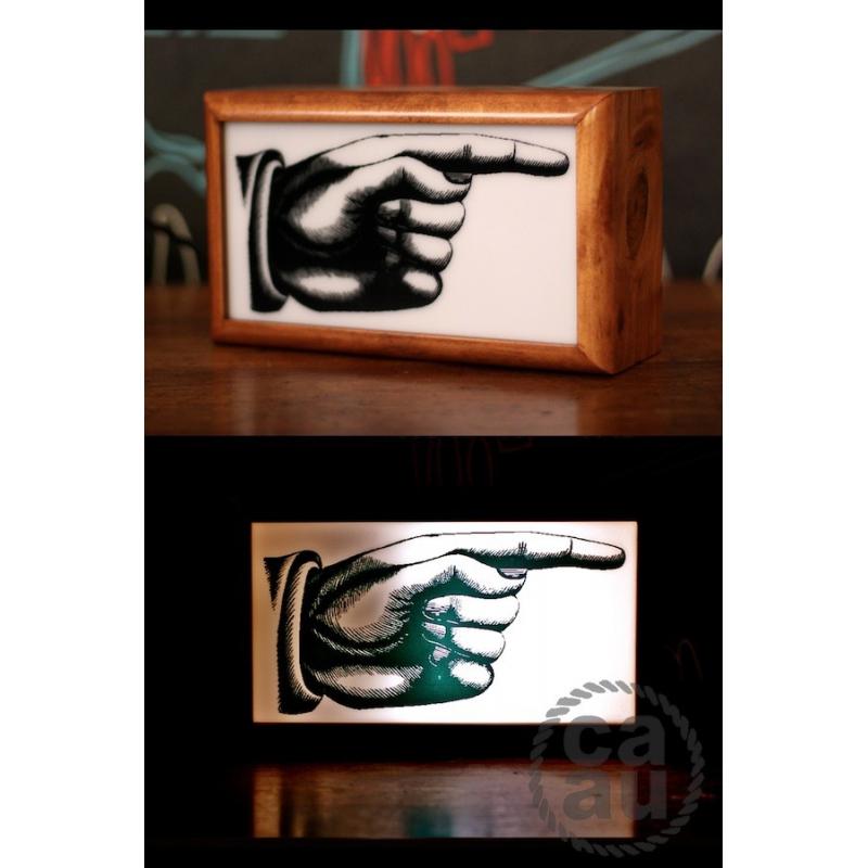 Lightbox Pointing Finger