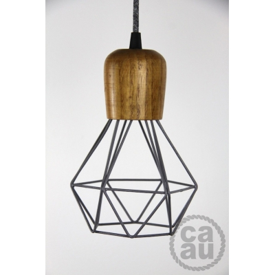 The Woodsman Pendant Grey