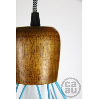 The Woodsman Pendant Blue