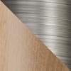Neutral - Brushed titanium